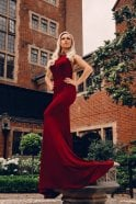 Kristina Rihanoff 1801 Jewelled Neckline Fitted Gown By Kristina Rihanoff