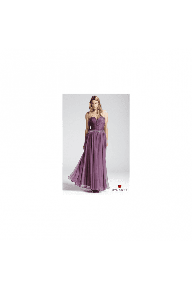 Dynasty 1011825 Two piece Dusky Lilac Evening Gown