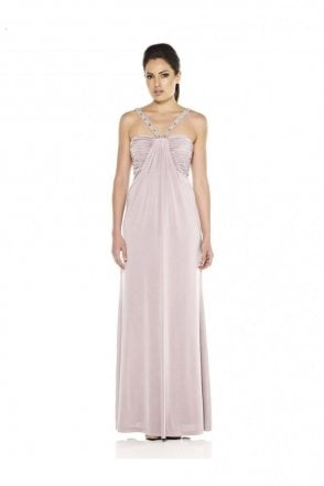 1012310 Lilac Jersey Evening Gown