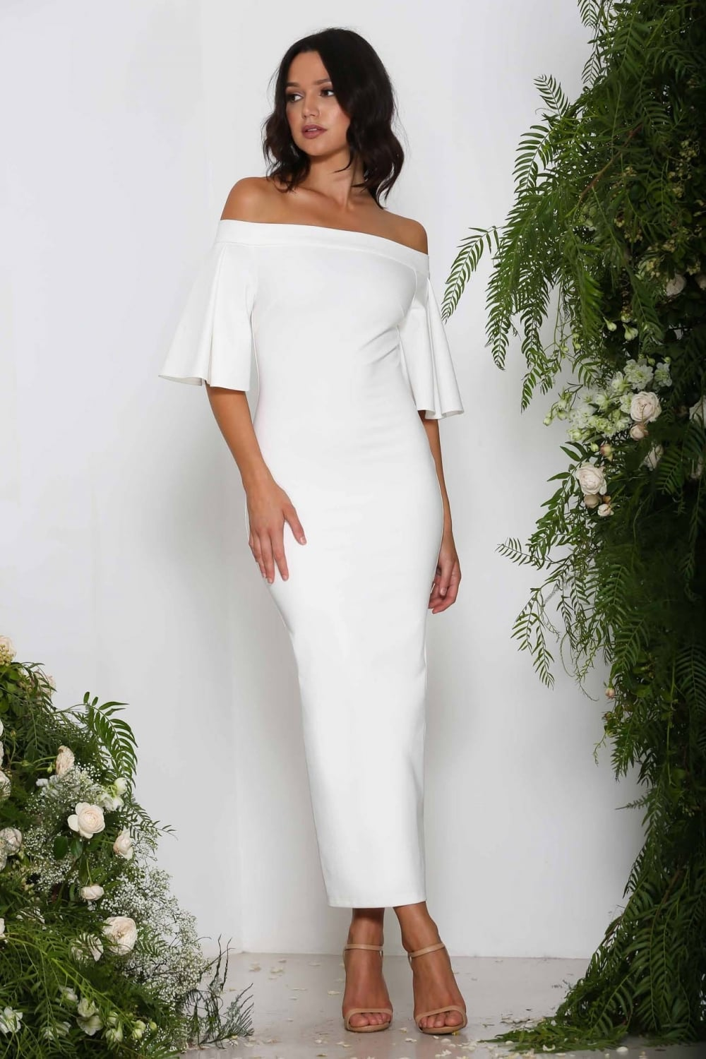 Off the Shoulder Ruffle Overlay White Dress on sale only US$ now, buy cheap Off the Shoulder Ruffle Overlay White Dress at neidagrosk0dwju.ga