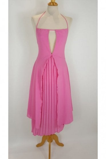 Fuchsia Pink Consortium 6765 3/4 Strappy Dress