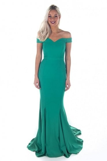 Jade J8017 sweet heart off the shoulder mermaid dress