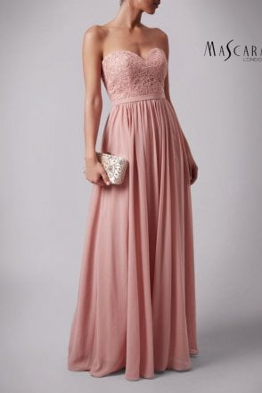 Soft Rose MC169032 lace sweetheart bodice dress