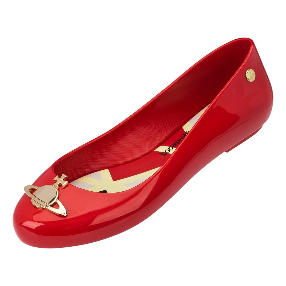 Melissa Red Ballet Shoes