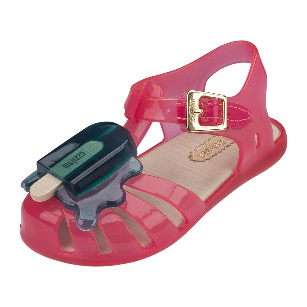 Mini Melissa Mini Aranha Lollypop Sandal Shoe in Pink