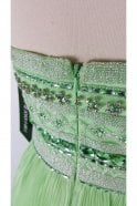 Sherri Hill 32182 Green Strapless Beaded Gown