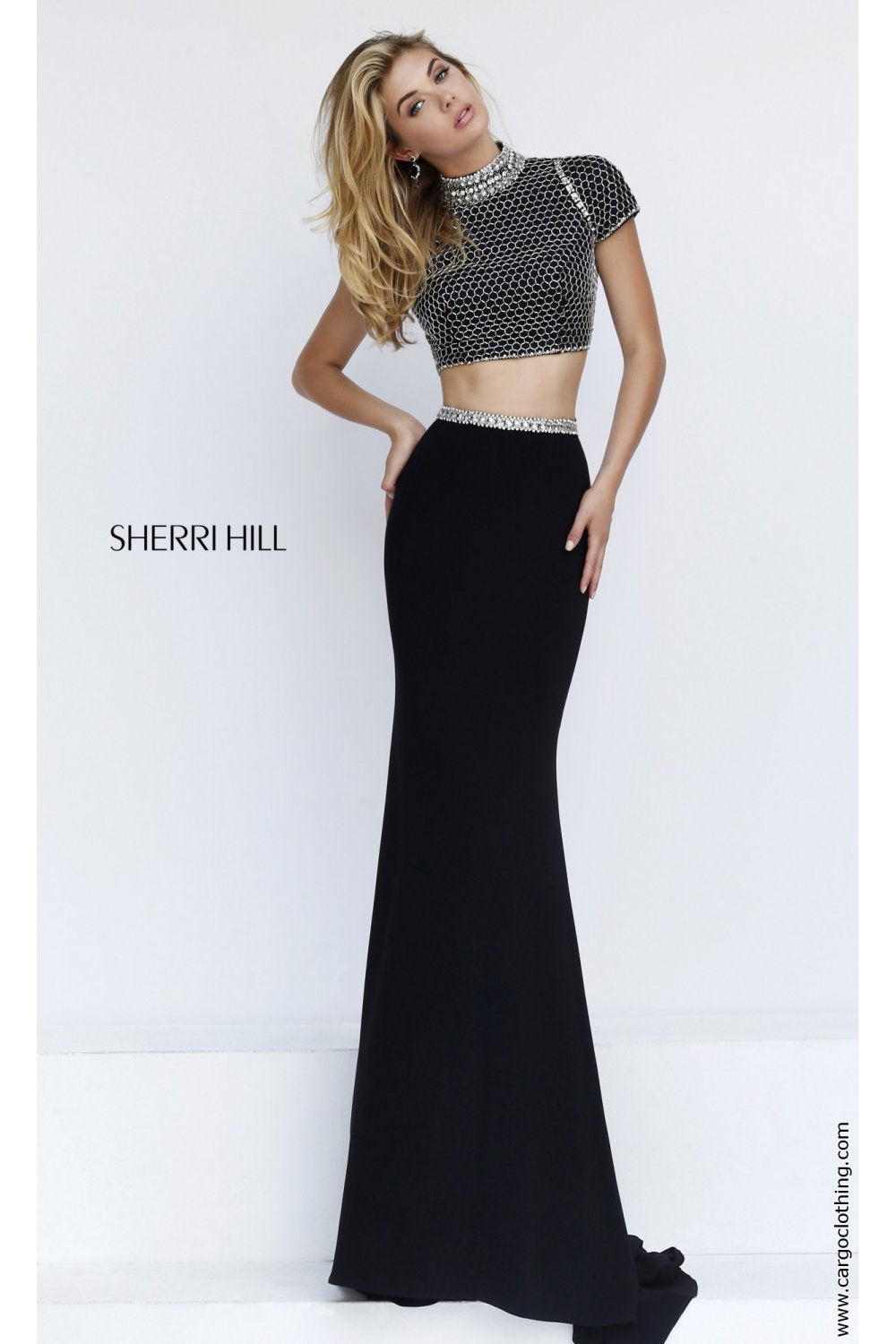 Sherri Hill dresses at Cargo Clothing, the 32303 two piece gown.