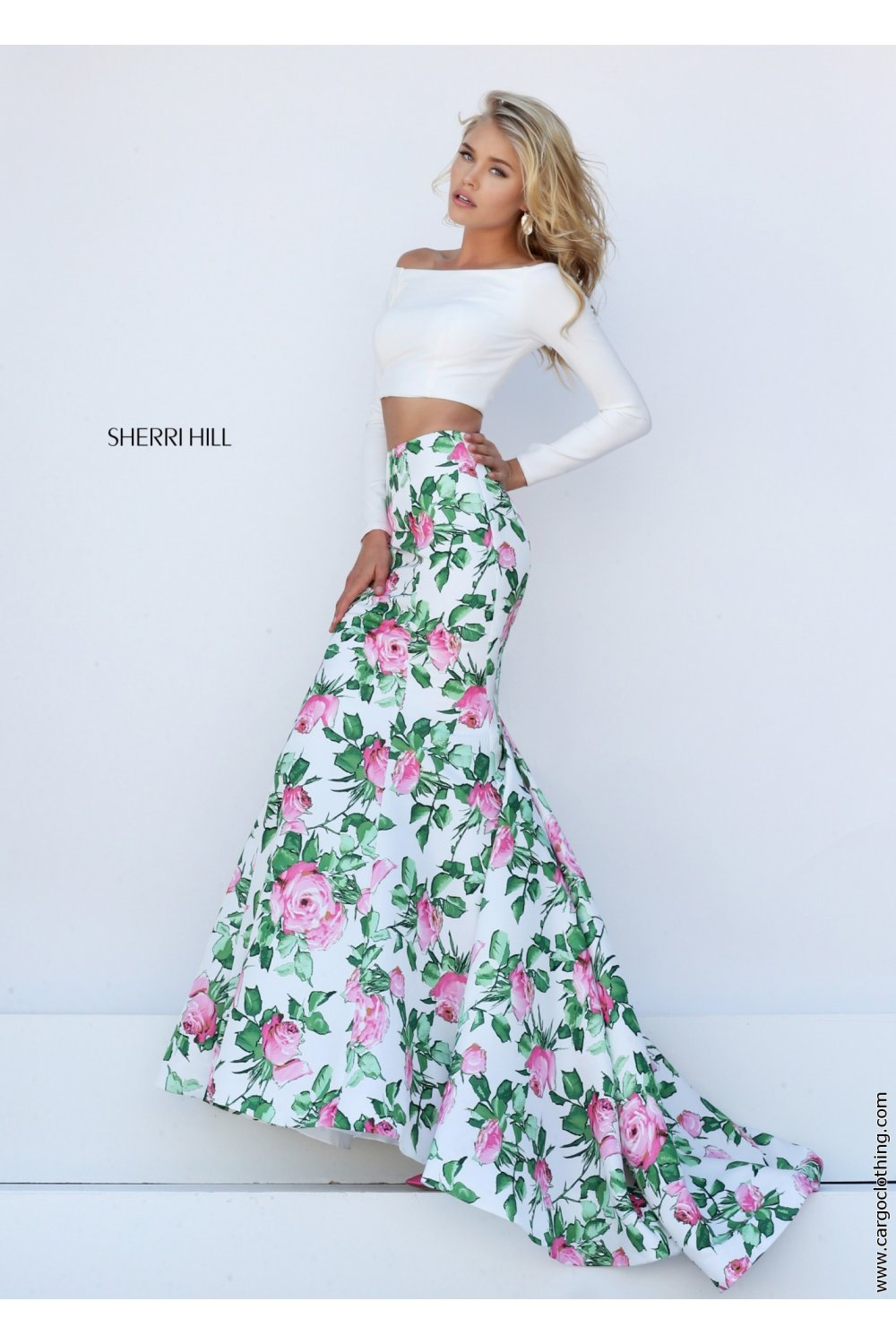 50433 Sherri Hill prom dress at the best price at Cargo Clothing UK