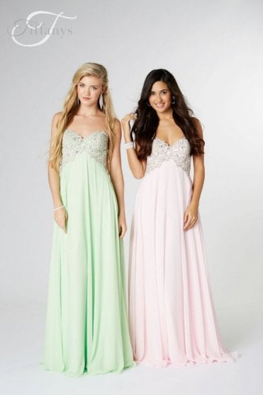 Apple Green Eve sweetheart Prom dress