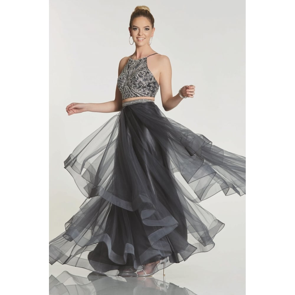 67859806a3 Grey Tulle Skirt And Top