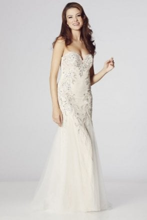 Ivory Mermaid Style Dress, Fantasia