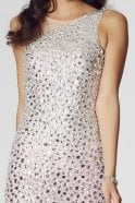 Tiffanys Illusion Prom Mint Khaleesi rhinestone jewelled mermaid prom dress