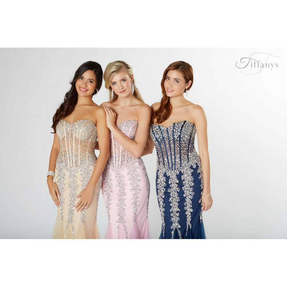 Eliza prom dress from tiffanys for the best price in the UK here