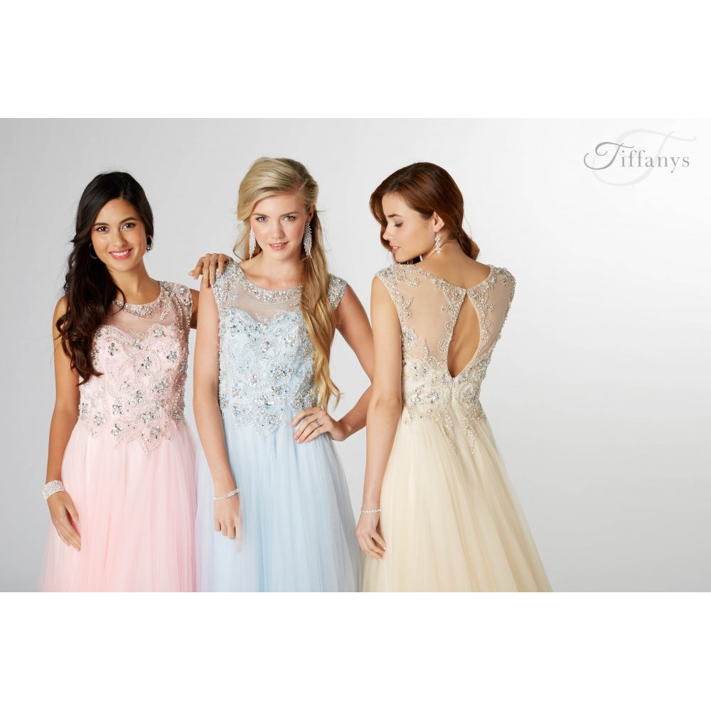 Tiffany Prom Dresses Hot Pink 29
