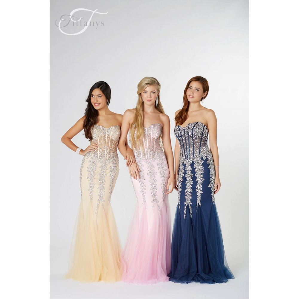 bc3f5f973bc Eliza prom dress from tiffanys for the best price in the UK here