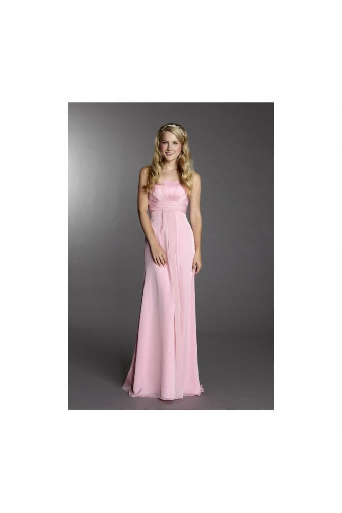 Tiffanys Serenade Emma bridesmaid dress Bubblegum Pink
