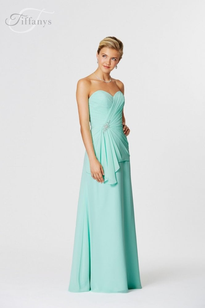 Tiffanys Serenade Janet Long Chiffon in your choice of colour
